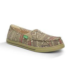 4d7968a7fa0 Sanuk Womens Slip on - Cabrio Chill Brown - Sandals