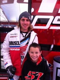 My interview with pro motocross racer Justin Barcia ..... He was so funny
