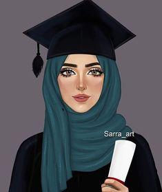 healthy breakfast ideas for kids images clip art designs for women Girl Drawing Sketches, Cute Girl Drawing, Girly Drawings, Girl Sketch, Girl Cartoon, Cartoon Art, Sarra Art, Hijab Drawing, Hope Art