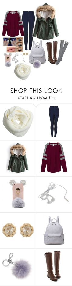 """""""12/12/16- Monday"""" by fashion-kpop ❤ liked on Polyvore featuring Topshop, Victoria's Secret, Grace Lee Designs, Michael Kors and Aéropostale"""