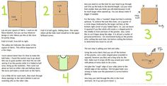 Easy No Sew Fleece Poncho. ∙ How To by Rachel S. on Cut Out + Keep