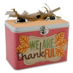 Thanksgiving thankful box