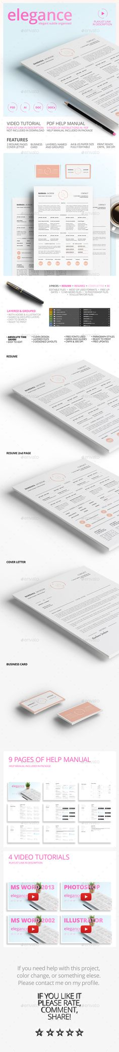 Dynamic Style Resume\/CV - Multi Color and Design Colors, Style - resumes with color