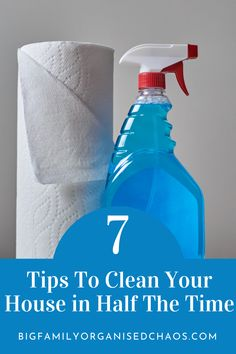 Looking for tips and tricks to clean your house quickly forget Mrs Hinch you've got this yourself! Cleaning Schedule For Working Mum, Monthly Cleaning Schedule, Clean House Schedule, Cleaning Checklist, House Cleaning Tips, Diy Cleaning Products, Cleaning Solutions, Cleaning Hacks, Big Family Organization