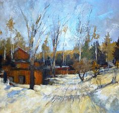 Andy Braitman-'Take a Right at the Red Barn'-Red Sky Gallery