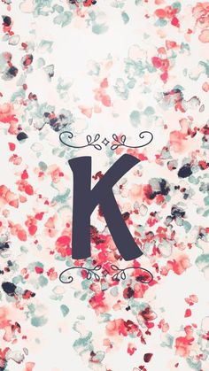 K - Wallpaper Monogram Wallpaper, Alphabet Wallpaper, Name Wallpaper, Phone Wallpaper Quotes, Cute Wallpaper For Phone, Cute Wallpaper Backgrounds, Tumblr Wallpaper, Cute Wallpapers, Pink Wallpaper
