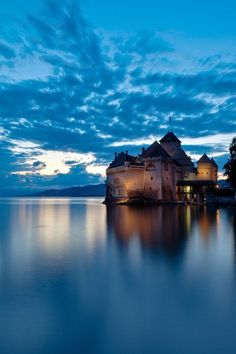 Chillon Castel - Montreux - Switzerland