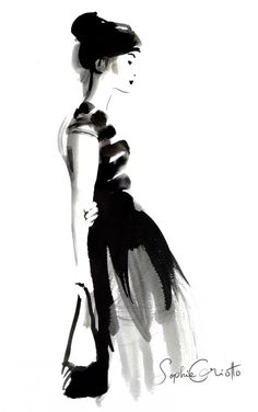 Sophie Griotto : ink work | Caroline Maréchal