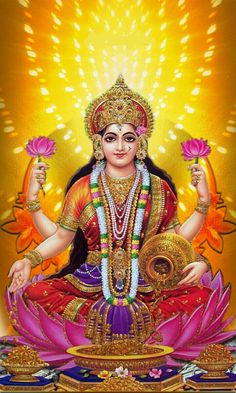 Lakshmi, Our Nourishing and Nurturing Mother Earth
