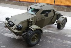 An Eskadron vehicle on display during an exhibition of weapons and specialised machinery at the venue of a meeting of the scientific technical council of Russia's Federal National Guard Service. Get premium, high resolution news photos at Getty Images Army Vehicles, Armored Vehicles, Bug Out Vehicle, Motor Vehicle, Expedition Vehicle, Buggy, Military Equipment, Pickup Trucks, Offroad