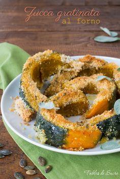 La zucca gratinata al forno è una ricetta semplice che esalta il sapore della zucca, con la crosticina croccante sopra diventa irresistibile!