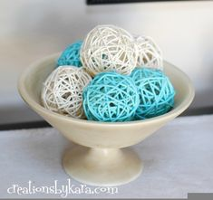 Homemade Decorative Balls Diy Decorative Balls  Styrofoam Or Other Lightweight Round Balls