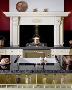 Rustikálna kuchyňa Zubro – Hanák Rustic Kitchen, Mirror, Furniture, Home Decor, Kitchen Rustic, Mirrors, Home Furnishings, Interior Design, Home Interiors