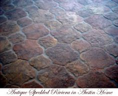 Antique Speckled Riviera terracotta tiles