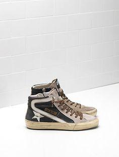 Olive lacci Donna Sneaker canvas