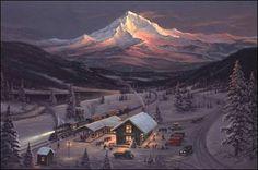 60 Best Jesse Barnes Images Christmas Scenes Winter Christmas Barn