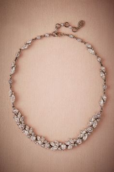 BHLDN Nerea Crystal Necklace in  Shoes & Accessories Jewelry Necklaces at BHLDN