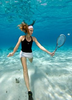 That looks like a fun way to play tennis!