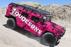 pink hummer, winning at the hummer game..