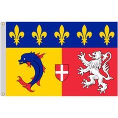 Drapeau de Rhône-Alpes