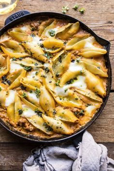 Spicy Pumpkin and Pesto Cheese Stuffed Shells. Spicy Pumpkin and Pesto Cheese Stuffed Shells.This Pumpkin and Pesto Cheese Stuffed Shells is for nights when you're craving Italian, but yo Pumpkin Sauce, Pumpkin Pasta, Spicy Pumpkin Soup, Pumpkin Puree, Pumpkin Recipes, Fall Recipes, Autumn Recipes Dinner, Fall Dinner, Dinner Ideas