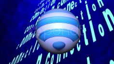 Wireless Network Symbol - Stock Footage   by agusacosta