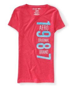 Camisetas da Aeropostale feminina com gola canoa a partir de R$49. Encontre em: www.figoverde.com.br