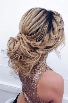 19 Best Formal Wedding Hairstyles Have you got a special occasion coming up? - 19 Best Formal Wedding Hairstyles Have you got a special occasion coming up? Wedding Hair And Makeup, Wedding Updo, Bridal Hair, Formal Wedding, Wedding Vows, Wedding Rings, Wedding Dresses, Ball Hairstyles, Bride Hairstyles