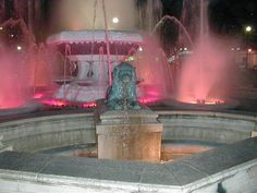 Fountain in downtown Ponce, PR