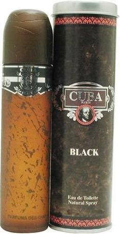 CUBA BLACK * Fragluxe * Cologne for Men * 3.4 oz * BRAND NEW IN BOX (Only Ship to United States)