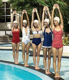 retro swimsuits