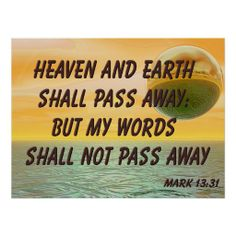 >>>The best place          Christian Poster with Bible Verse Mark 13:31           Christian Poster with Bible Verse Mark 13:31 lowest price for you. In addition you can compare price with another store and read helpful reviews. BuyHow to          Christian Poster with Bible Verse Mark 13:31...Cleck Hot Deals >>> http://www.zazzle.com/christian_poster_with_bible_verse_mark_13_31-228643303325238774?rf=238627982471231924&zbar=1&tc=terrest
