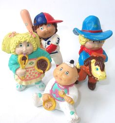 Vintage Cabbage Patch Kids Doll Figures Cabbage Patch Dolls. $14.99, via Etsy.