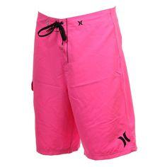 NEW Mens Hurley ONE Only Boardshort Short Neon Pink | eBay