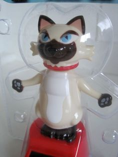 Crazy Cat Lady Funny Solar Dancing Bobble Head Toy Kitten Siamese Mom Meow New Crazy Cat Lady, Crazy Cats, Solar Powered Toys, Dancing Toys, Disney Cats, Siamese Cats, Bobble Head, Funny Cats, Cat Lovers