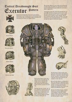 Terminator Armor Executor Pattern by orcbruto.deviantart.com on @deviantART