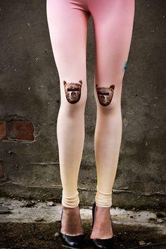 SUNRISE Anonymous Bear leggings