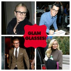 Four-Eyed Celebrities! 25 Glam Stars in Glasses (Photos)
