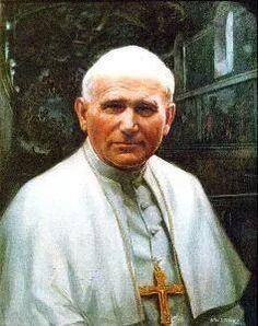 Painting of Saint John Paul II