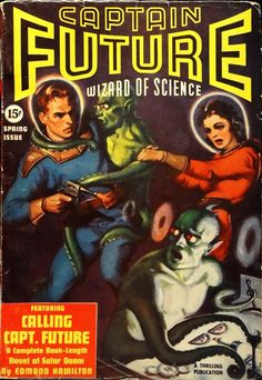 Captain Future Vol. 1, No. 2 (Spring, 1940).