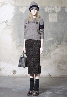 ROCHAS - perfect balance of edgy and elegant