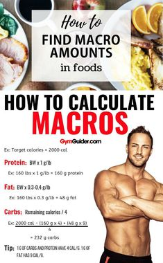 In some ways, macro counting is similar to old-school calorie counting. Each macro nutrient has a specific amount of calories per gram. Protein and carbs have 4 calories per gram, and fat has Lose Fat, How To Lose Weight Fast, Tongue Health, Muscle Gain Diet, Fitness Nutrition, Macro Nutrition, Health Diet, Thyroid Health, Weight Training