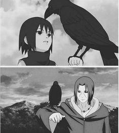 Itachi Uchiha, Naruto And Sasuke, Naruto Shippuden Anime, Anime Naruto, Naruto Art, Manga Anime, Naruto Triste, Arte Digital Fantasy, Sakura E Sasuke