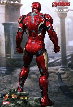 The Avengers 2: Iron Man Mark XLV - DieCast, Deluxe-Figur (voll beweglich) ... https://spaceart.de/produkte/tav013.php