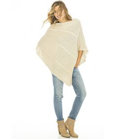Womens Cable Knit Poncho Sweater Cape Boho Soft Casual - Natural - CF12DY1MOG1,Women's Clothing, Sweaters, Pullovers  #Sweaters #style #fashion #outfits #Pullovers