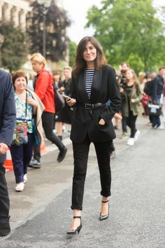 Charting the Best French Style Icons of All Time | StyleCaster. Emmanuelle Alt