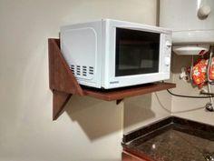 Mueble aereo para microondas google search proyectos - Estante para microondas ...