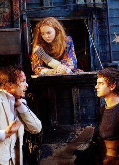 The Imaginarium of Doctor Parnassus. Interesting film. Lily Cole was great in it.
