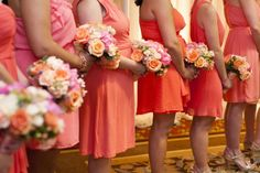 flowers by tina barrera photo by pancho3  various shades of peach and coral flowers