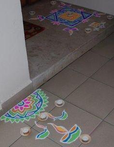 Indian Rangoli Pattern: my rangoli